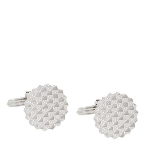 Engraved Geometric Cufflinks, ${color}