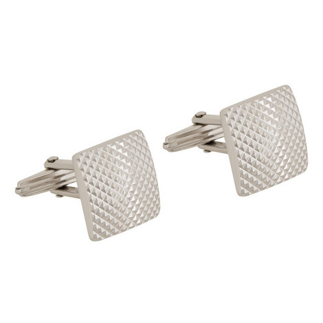Stamped Square Cufflinks, ${color}