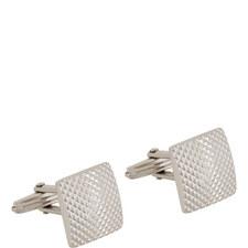 Stamped Square Cufflinks