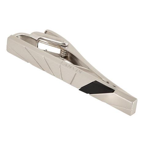 Onyx Engraved Tie Clip, ${color}