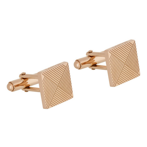 Etched Square Cufflinks, ${color}