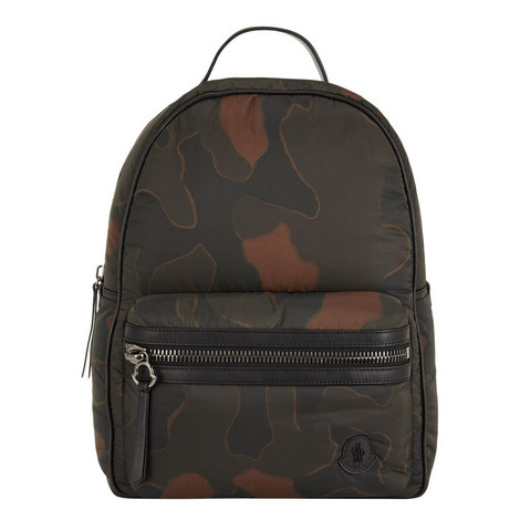 Camo Print Backpack, ${color}