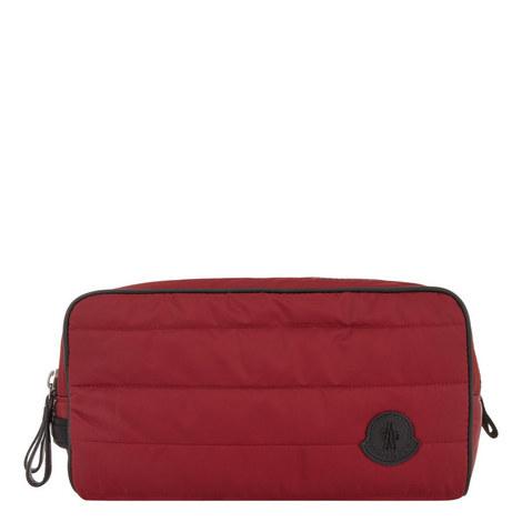 Double Zip Wash Bag, ${color}