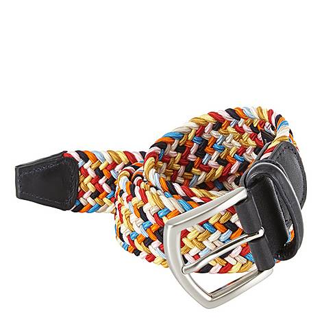 Woven Elasticated Belt, ${color}