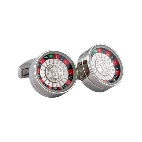 Roulette Cufflinks, ${color}