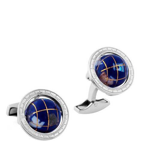 Globe Cage Cufflinks, ${color}