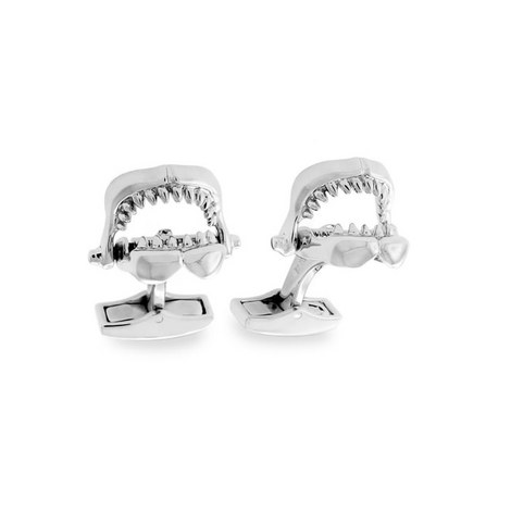 Shark Jaw Cufflinks, ${color}