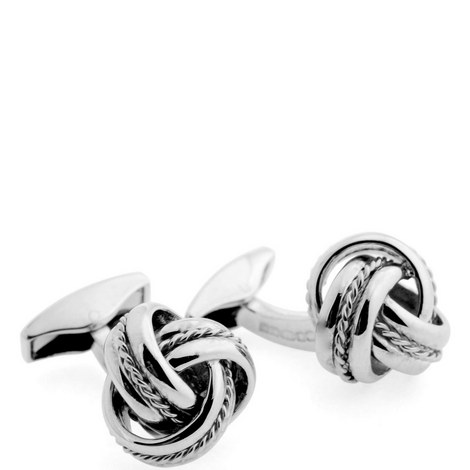 Royal Cable Knot Cufflinks, ${color}