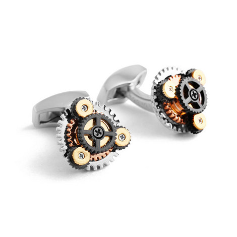 Gears Cufflinks, ${color}