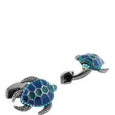 Mechanical Animals Turtle Cufflinks