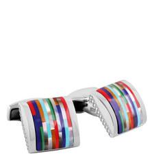 Mosaic Bamboo Cufflinks