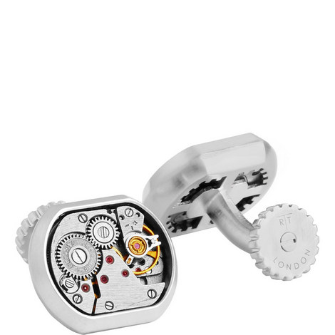 Skeleton Vintage Matte Limited Edition Cufflinks, ${color}