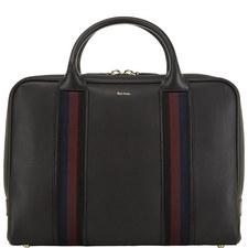 Leather Webbing Briefcase