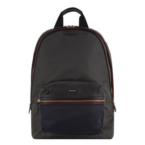 Colour-Block Backpack, ${color}