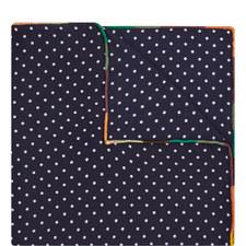 Polka Dot Pocket Square