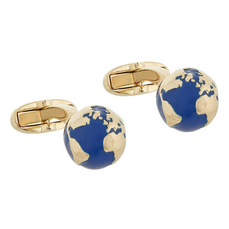 Globe Cufflinks, ${color}