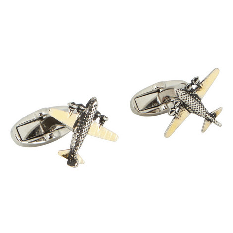 Aeroplane Cufflinks, ${color}