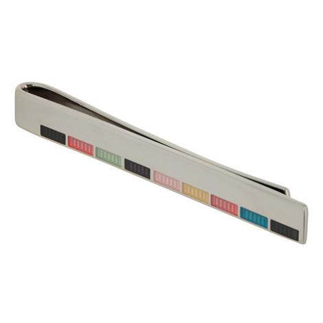 Multi Stripe Tie Clip, ${color}