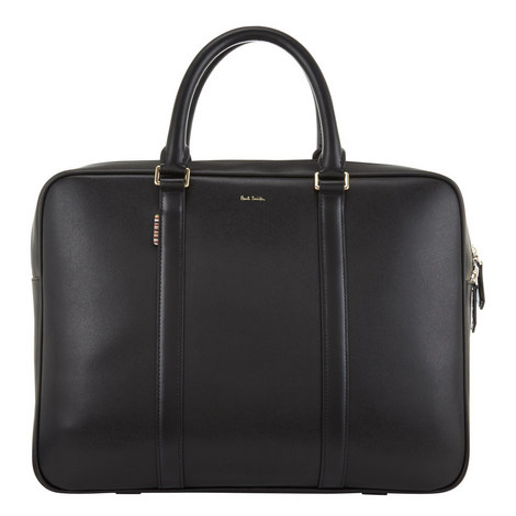 City Webbing Slim Briefcase, ${color}