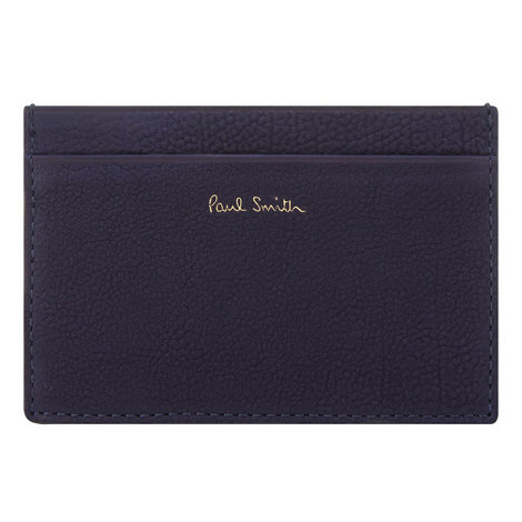 Suede Soft Grain Card Holder, ${color}