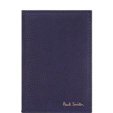 Suede Soft Grain Billfold Card Holder