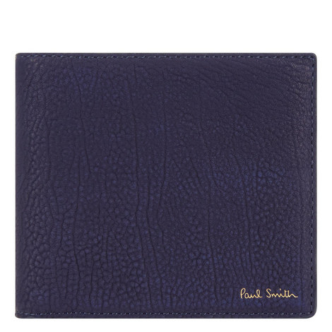 Soft Grained Leather Billfold Wallet, ${color}