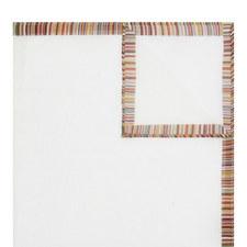 Stripe Trim Pocket Square