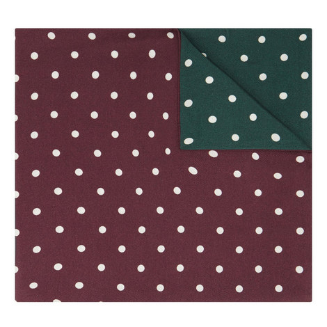 Double Polka Dot Pocket Square, ${color}