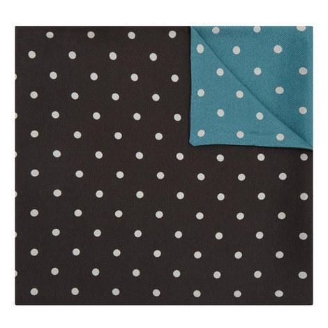 Double Polka Dot Pocket Square, ${color}