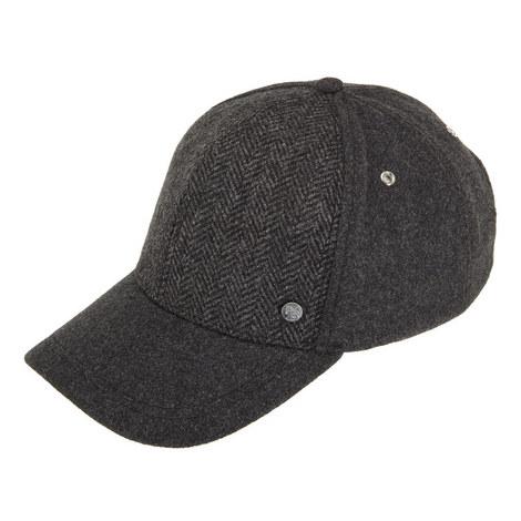 Herringbone Wool Cap, ${color}