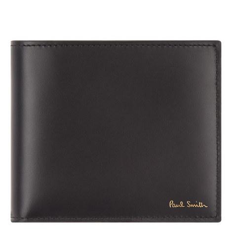 Bike Print Leather Wallet, ${color}