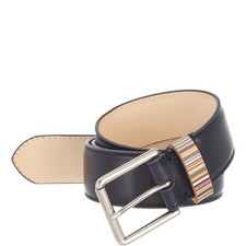 Multi-Stripe Keeper Belt