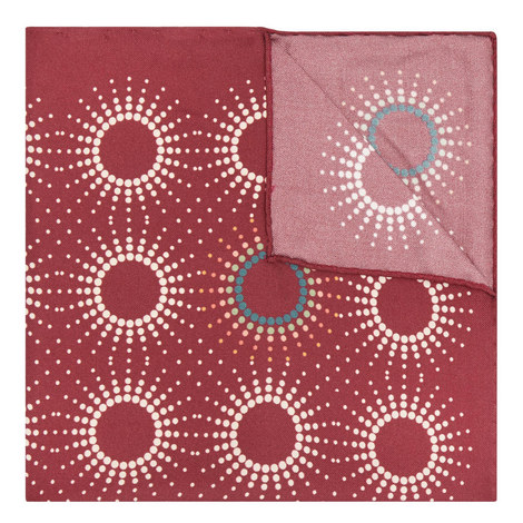 Starburst Silk Pocket Square, ${color}