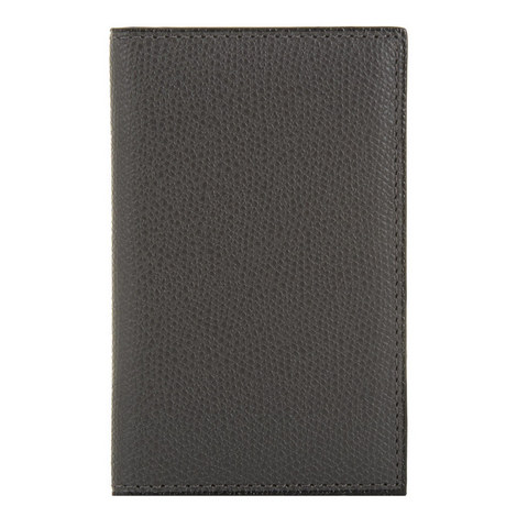 Leather Foldover Card Holder, ${color}