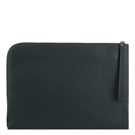 Zip-Around Portfolio Clutch, ${color}