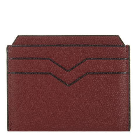 Textured Leather Cardholder , ${color}