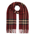 Check Cashmere Scarf, ${color}