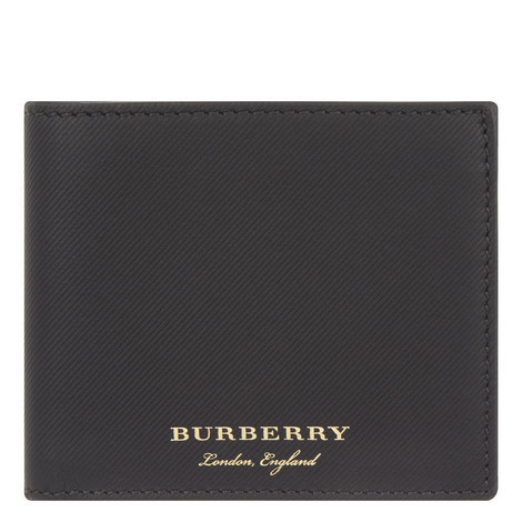 Trench Leather Billfold Wallet, ${color}