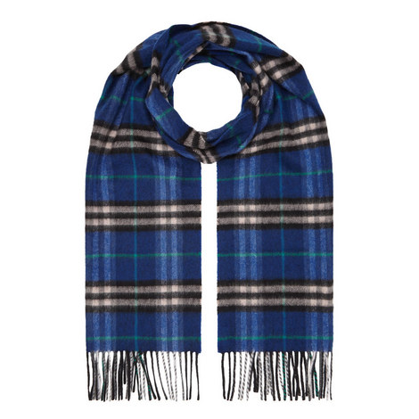 Castleford Check Cashmere Scarf, ${color}