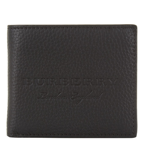 Debossed Leather Wallet, ${color}