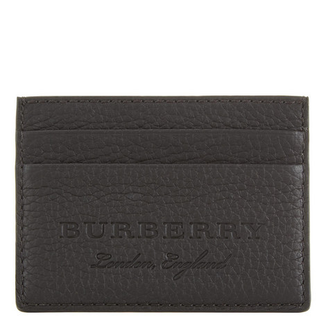 Leather Embossed Card Holder, ${color}