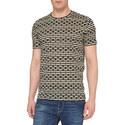 Spot Stripe Crew Neck T-Shirt, ${color}