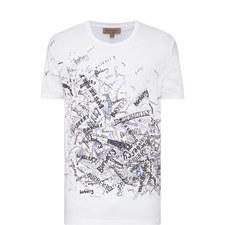 Scribble Print T-Shirt