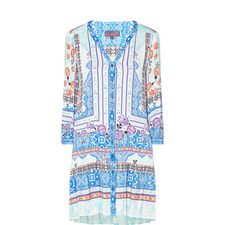 Winds of Change Printed Dress