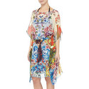 Fortune The Bold Silk Kaftan, ${color}