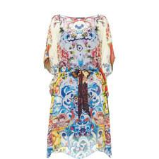 Fortune The Bold Silk Kaftan