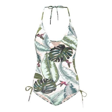 Palm Beach Deep V Swimsuit, ${color}