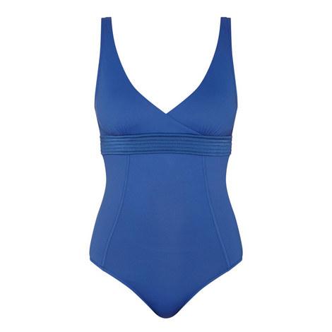 Wrap Front Swimsuit, ${color}