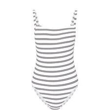 Inka Stripe 80's TankSwimsuit