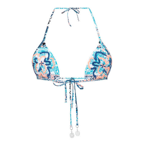 Silk Market Slide Tri Bikini Top, ${color}